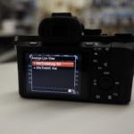 Sony A7II im Studio